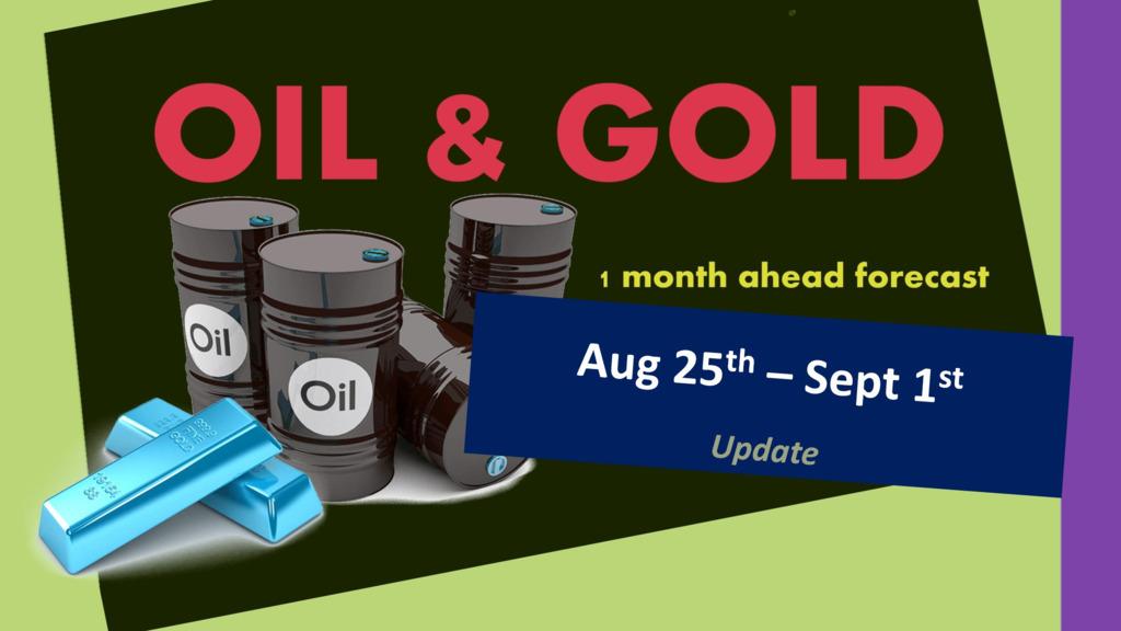 OIL & GOLD forecast until September 25th 2020