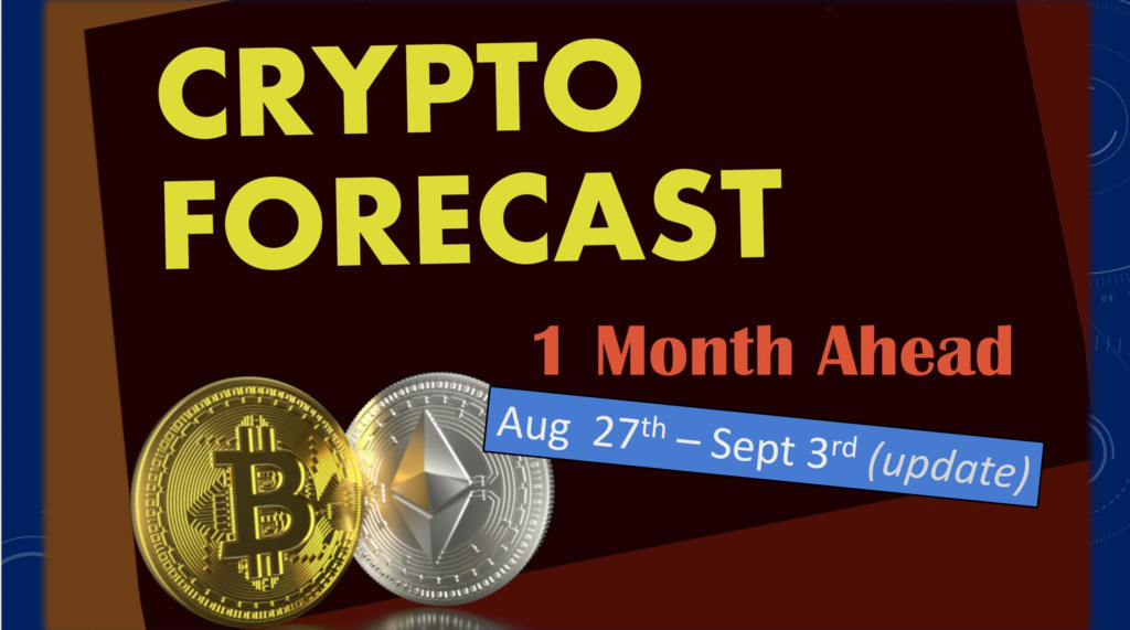 Crypto Astro- forecast 1 month ahead until September 27th