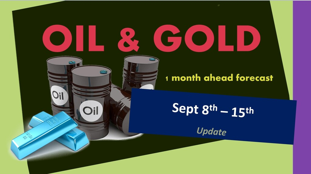 OIL & GOLD forecast until October 8th 2020