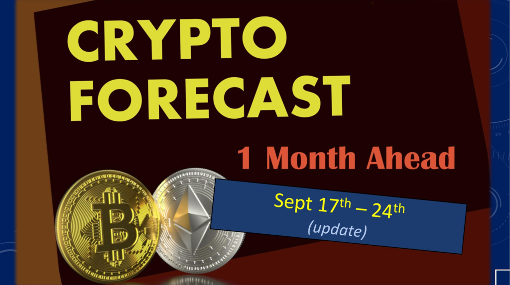 Crypto forecast 1 month ahead until October 17th 2020