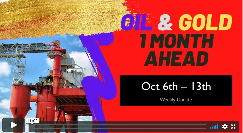 OIL & GOLD Astro- Forecast until November 6th 2020