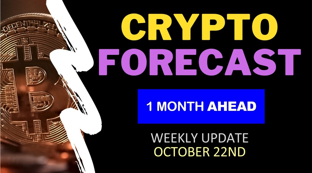 Crypto weekly forecast 1 month ahead until November 22nd