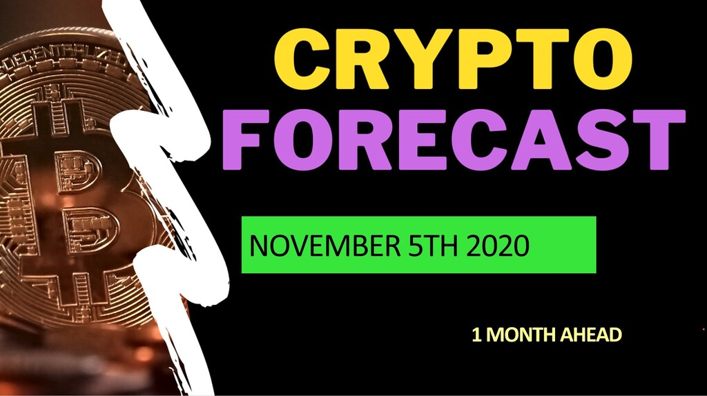 Crypto forecast 1 month ahead until December 5th 2020