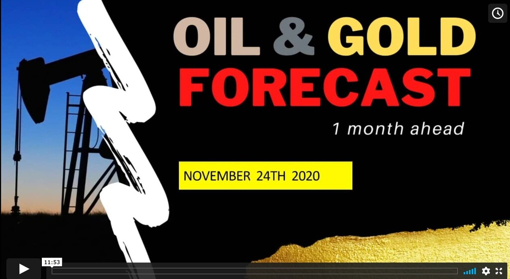OIL & GOLD astrology forecast until December 24th 2020