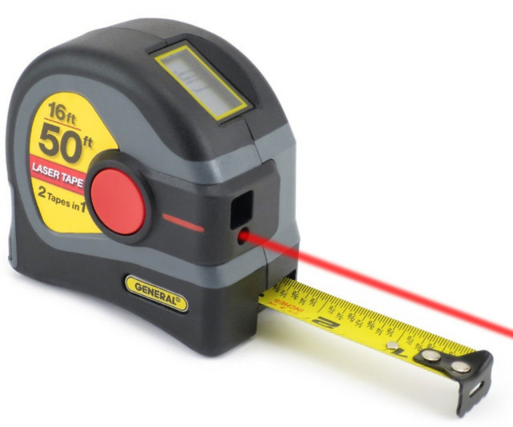 Tape measure to the 16th gypsum plaster