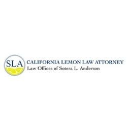 Lemon Law California >> Law Offices Of Sotera L Anderson Soteralanderson1 Minds